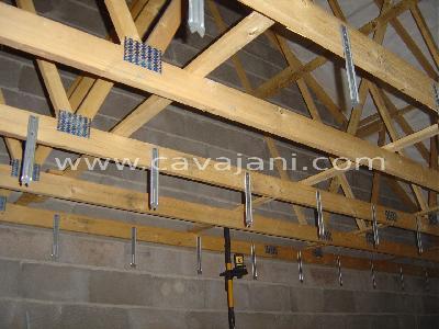 Renovation cuisine mur wc - Comment poser un faux plafond en placo ...